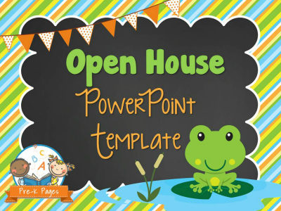 Frog Open House PowerPoint - Pre-K Pages