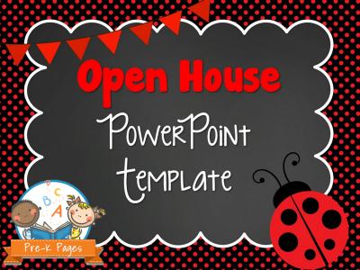 Ladybug Open House PowerPoint