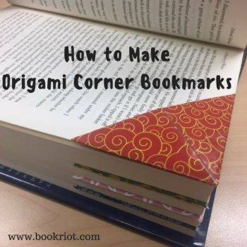 Tutorial How to Make a Corner Origami Bookmark