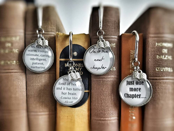 14 Absolutely Charming Metal Bookmarks