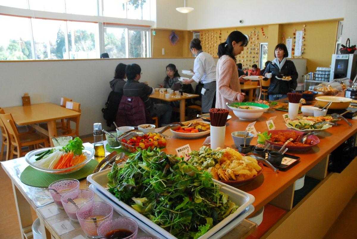 Buffet Cuisine Enjoy Home Style Japanese Cuisine Relive Japan Aviation History