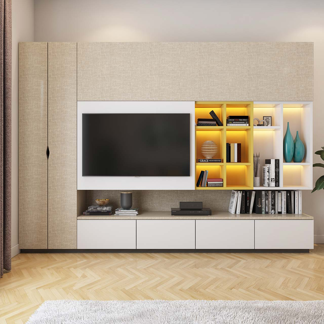 Tv Sideboard Modern Modern Tv Unit Design Ideas For Your Home | Design Cafe