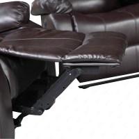 Elegant Leather Sofa 1 Seater Recliner Chair Lazy Boy Sofa ...