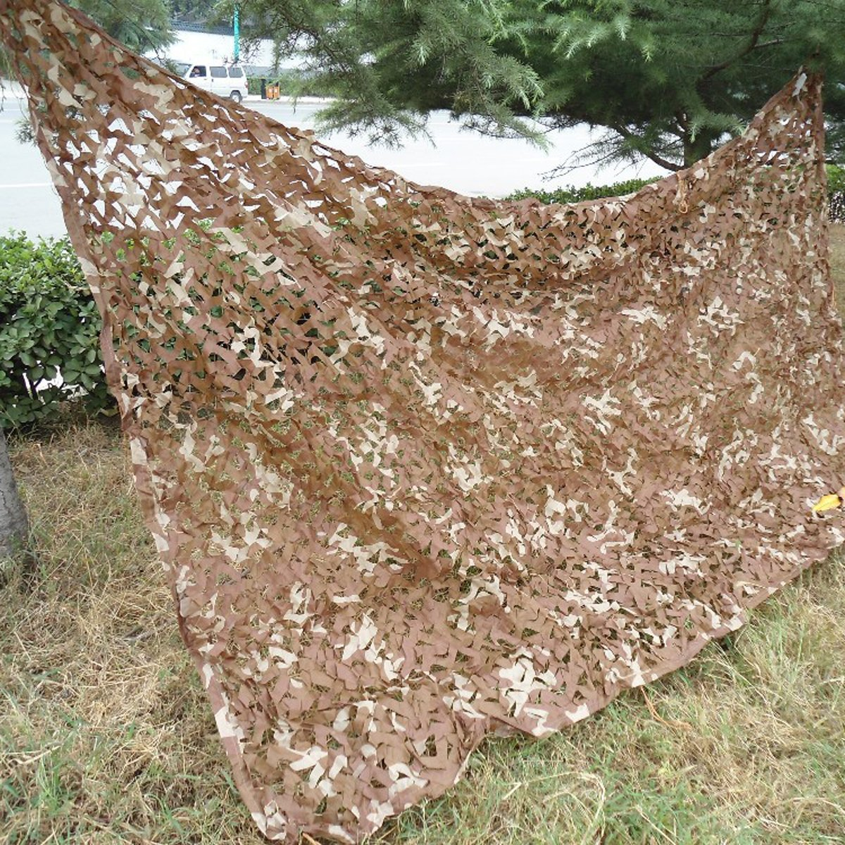 Filet De Camouflage Pour Terrasse 2mx4m Military Desert Camouflage Net Camo Netting For