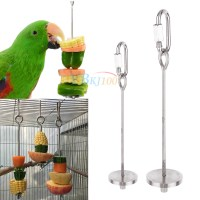 Vegetables Fruits Holder Skewer Stick Toy for Parrot ...