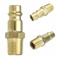 1/4'' BSP Male Air Line Hose Fitting Coupling Adapter ...