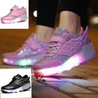 LED Schuhe Flgel Kinder Junge Mdchen Sneaker Leuchtende ...