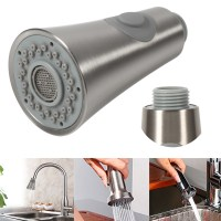 Faucet Replacement Spray Head Universal Pull Out Kitchen ...