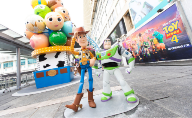 Toy Story 4 Carnival Hits Harbour City For The Summer