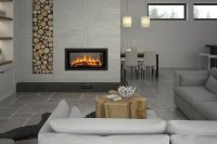 Double-sided fireplaces: two sides, endless benefits ...