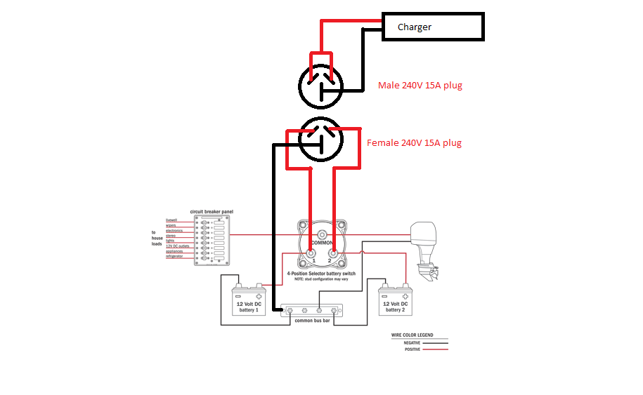 wiring diagram for 240v led downlights