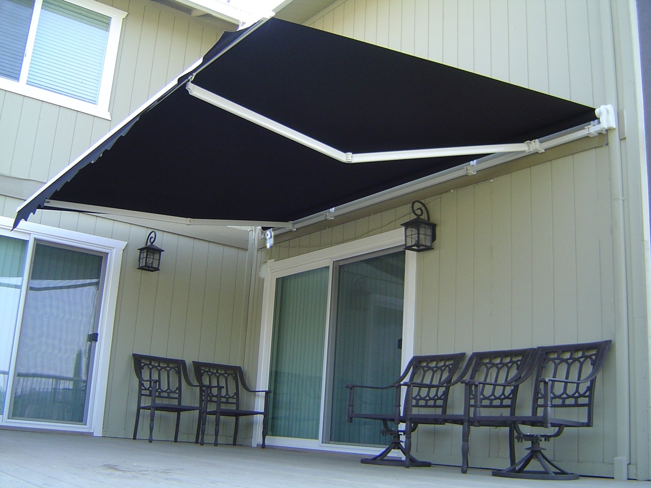 Roll Out Patio Window Door Outdoor Awning 3 Sizes Buy