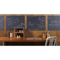 Write-On Removable Vinyl Chalkboard Wall Decal | Buy ...