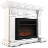 Mantel Style Electric Fireplace Heater White 1950W | Buy ...