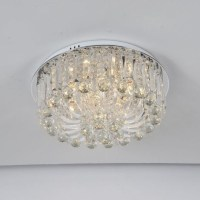 Pendant Glass Round 9 Arm Ceiling Lamp Chandelier | Buy ...
