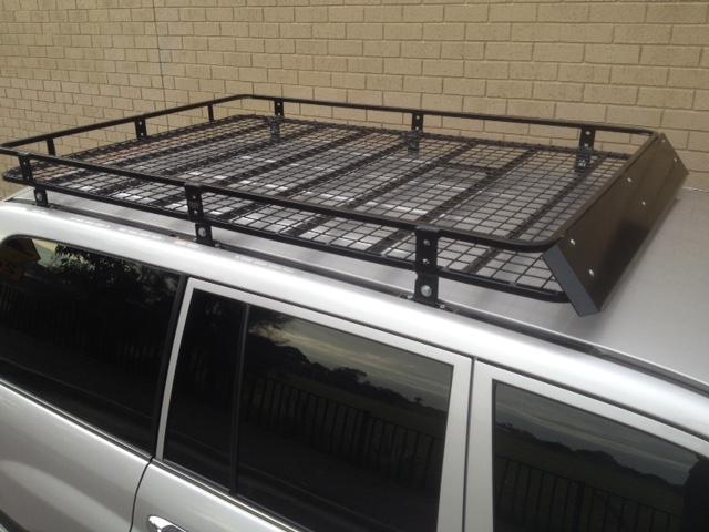 Steel Off Road Roof Rack Toyota 100 L Cruiser 19 X 126m