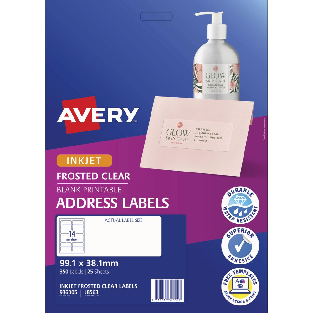 avery labels 14 per page