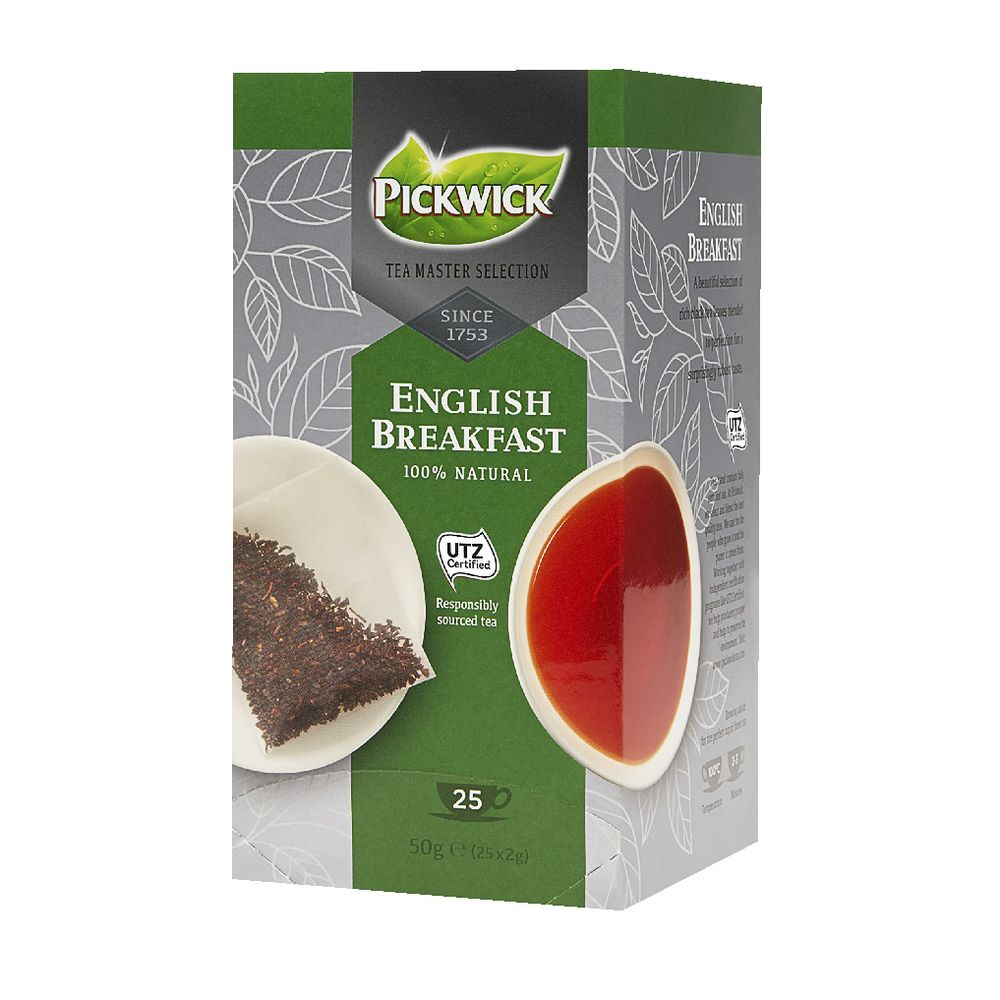 Utz Kakao Pickwick Utz Certified Tea Bags English Breakfast 25 Pack