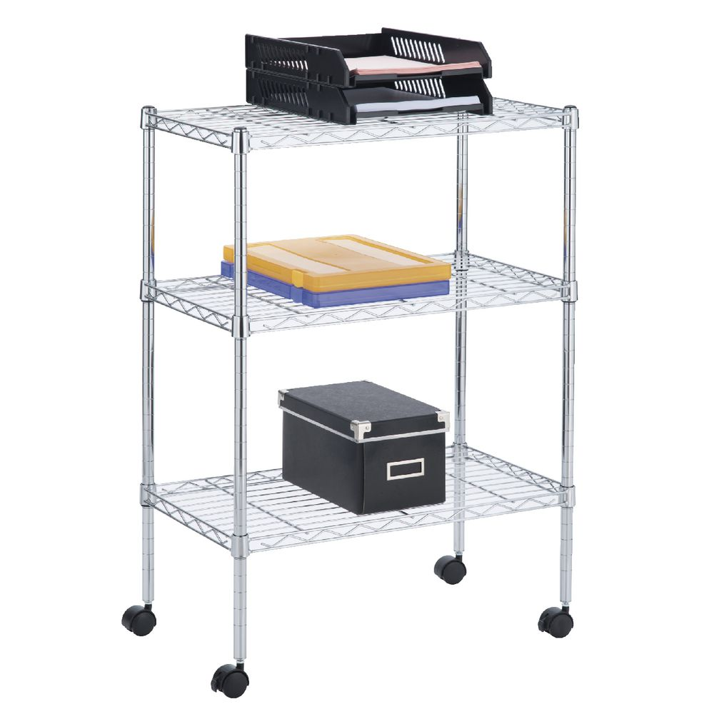 Shelving Adelaide 3 Tier Wire Shelving Unit
