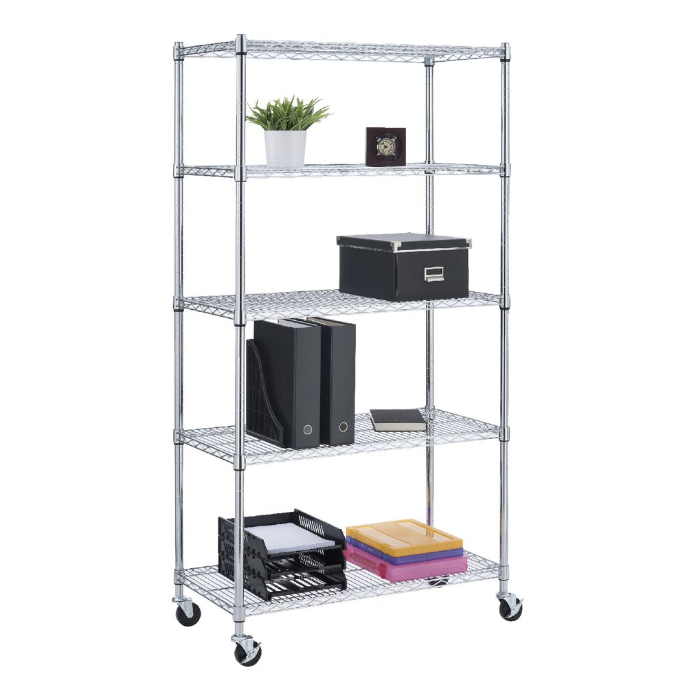 Shelving Adelaide 5 Tier Wire Shelving Unit