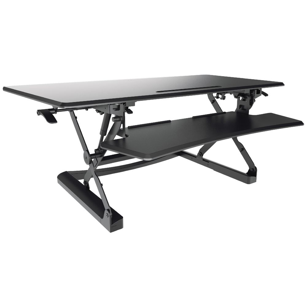 Sit To Stand Desk Professional Sit Stand Desk 1190mm Black