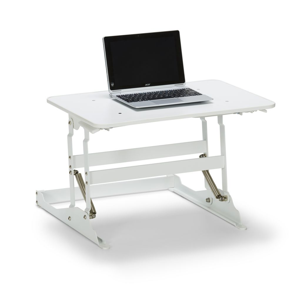 Sit To Stand Desk Wynston Sit Stand Desk Small White