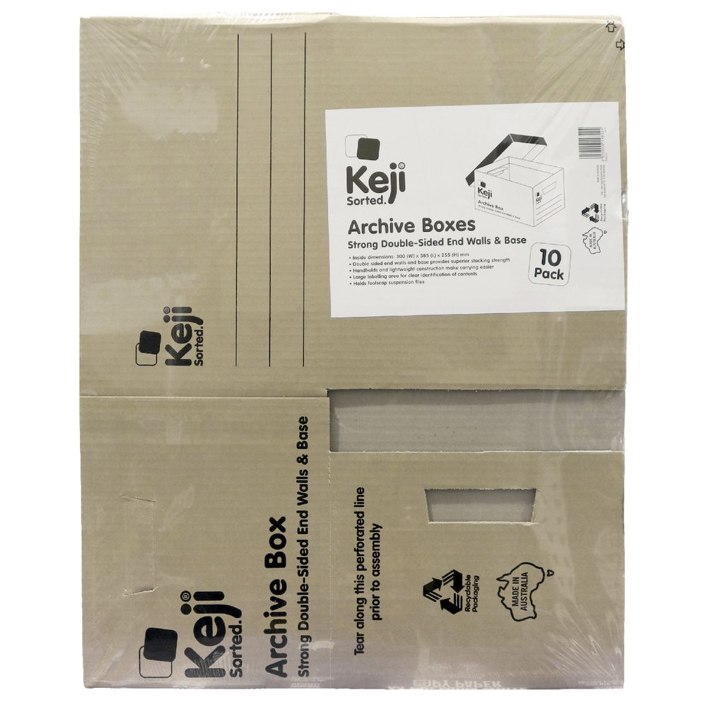 Free Cardboard Boxes Melbourne Keji Archive Box 10 Pack