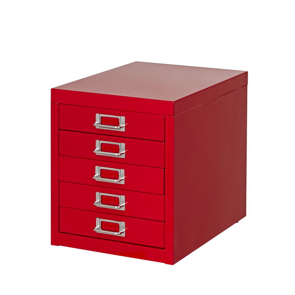 Desk Top Drawers Spencer 5 Drawer Desktop Cabinet Aqua