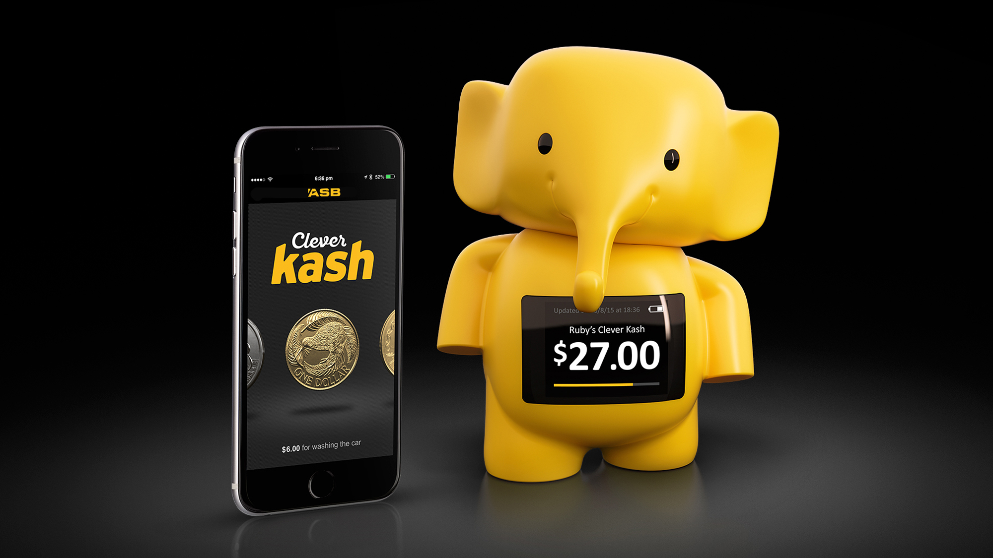 Buy Money Box New Zealand Bank Asb Introduces A Cashless Money Box For