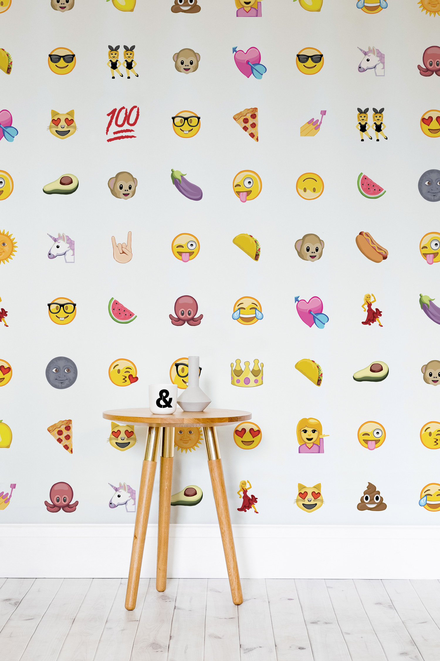Bedroom Iphone Background Emoji Wallpaper By Murals Wallpaper