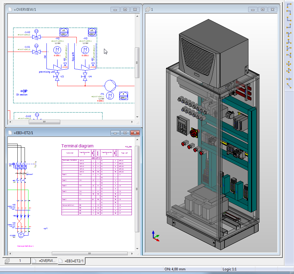 Eplan s pro panel engineering software reduces wiring time by up to 75 per cent the engineer the engineer
