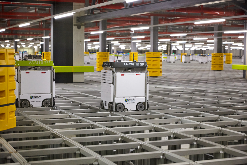 Robot swarm runs hive of online grocery activity at Ocado The Engineer