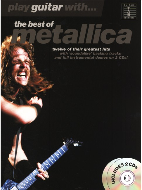 Play Guitar With The Best Of Metallica (TAB) - Guitar Tab Sheet - metallicaguitar tabs