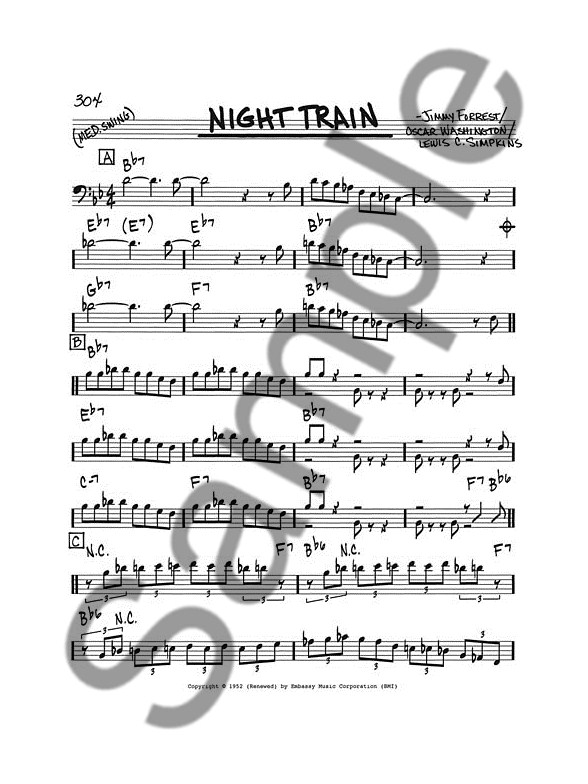 The Real Book - Volume 1 (Bass Clef) - Bass Clef Instruments Sheet - bass cleft sheet music