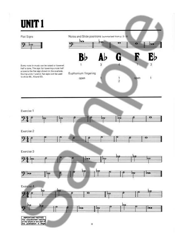Peter Wastall Learn As You Play Trombone - Bass Clef - Trombone - bass cleff sheet music