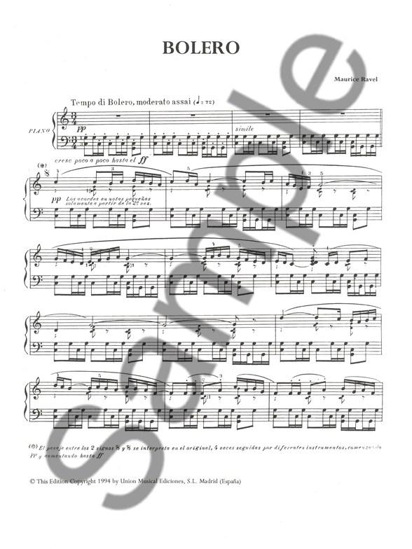 m ravel bolero sheet music.html