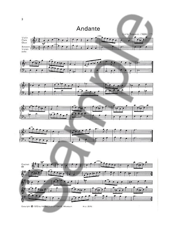 Duets For Treble And Bass Clef Instruments - Bassoon Sheet Music - bass cleff sheet music