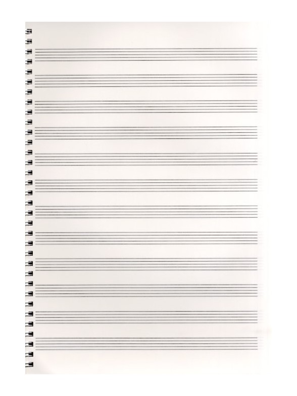 blank sheet music 8 stave manuscript paper 100 pages 85 x 11 large