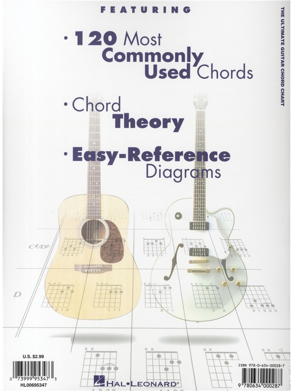 Ultimate Guitar Chord Chart - Guitar Books - Tuition musicroom - guitar chord chart
