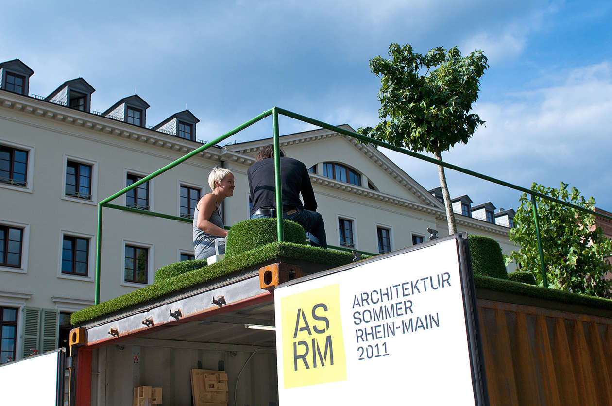 Container Haus Graz Exhibition Container Architektursommer Summer Of Architecture