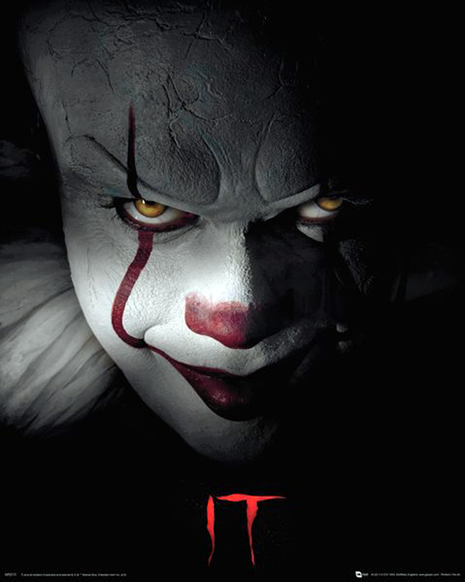 Poster 40x50 Details About Stephen King S It Mini Poster Pennywise 40 X 50 Cm