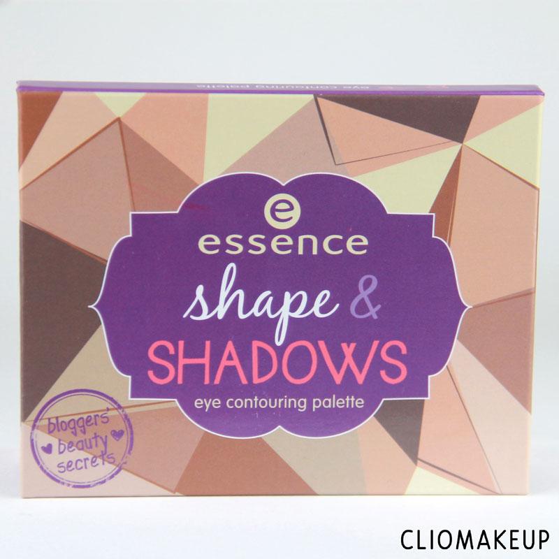 Mini recensione Shape And Shadows Palette Essence