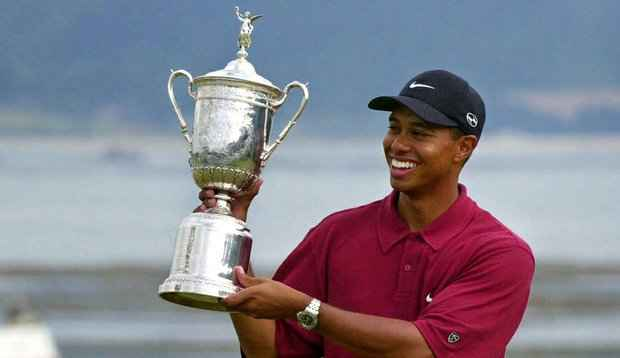 tiger woods score 2000 us open