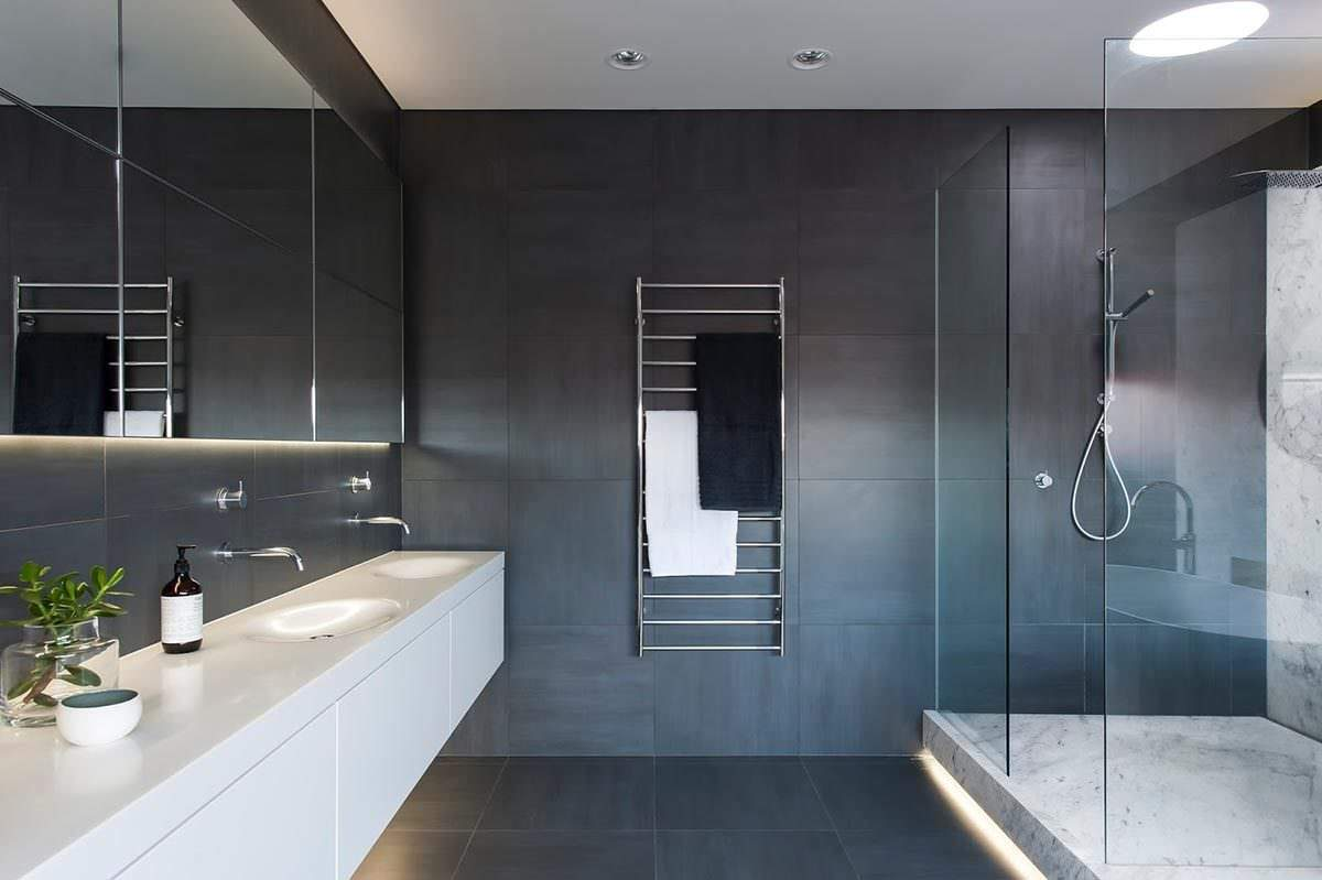 Modern Badezimmer Design Minimalist Luxury Bathroom By Minosa Design