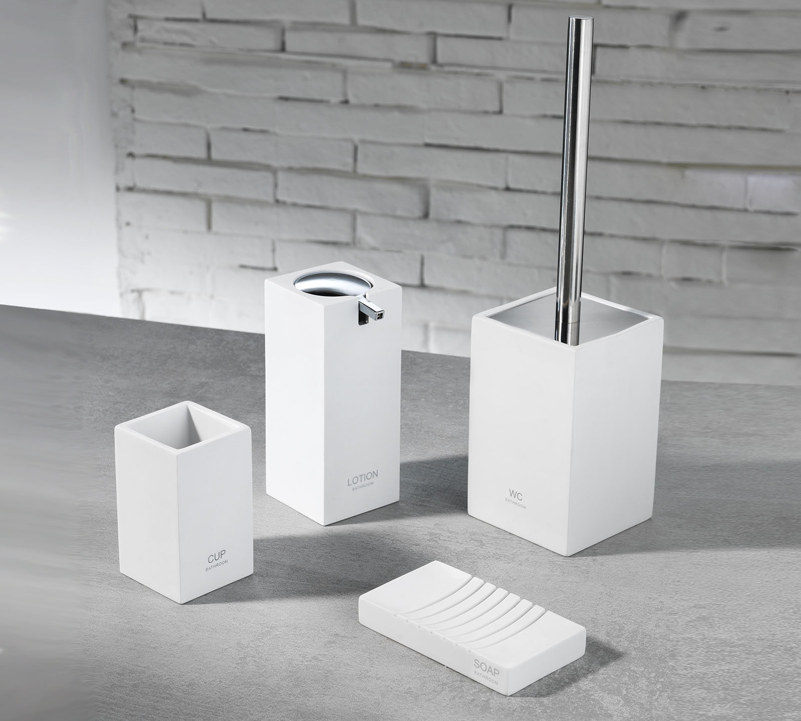 Amazon Pensili Bagno Set Accessori Bagno Tft Cod 4357 A White Duzzle