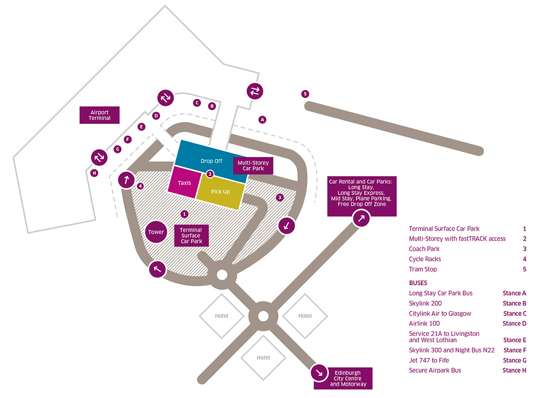 Location Parking Paris 16 Car Park Map Edinburgh Airport