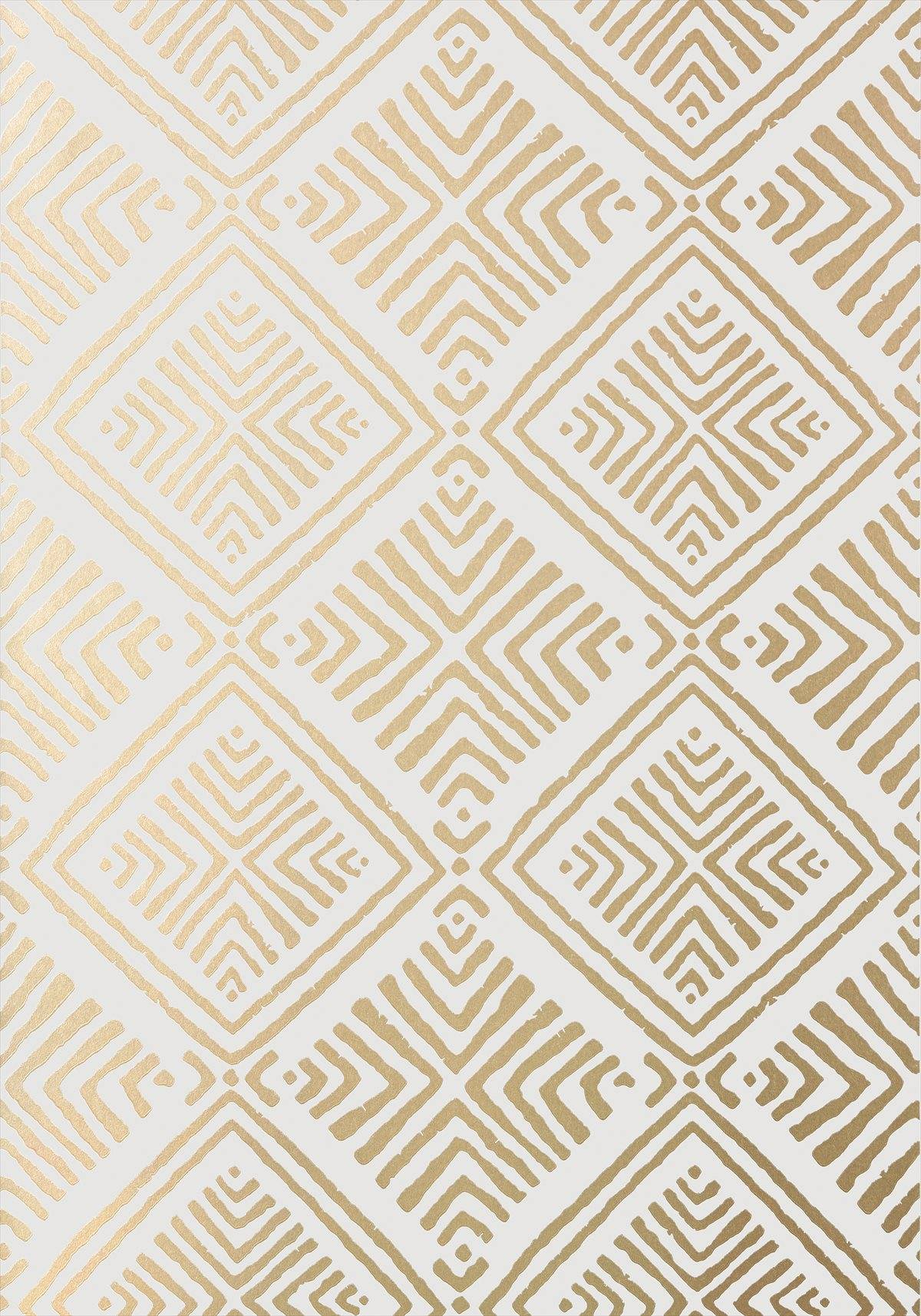 Metallic Gold Wallpaper Donavin Diamond Metallic Gold Wallpaper Palampore Anna French