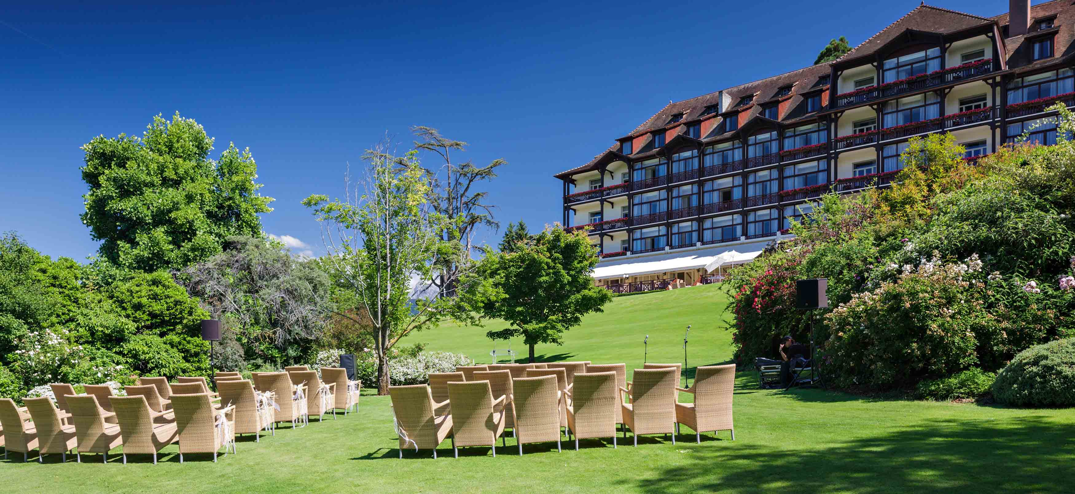 Thonon Les Bains Hotel Reception Events Luxury Wedding 4 5 Star Hotels Evian France