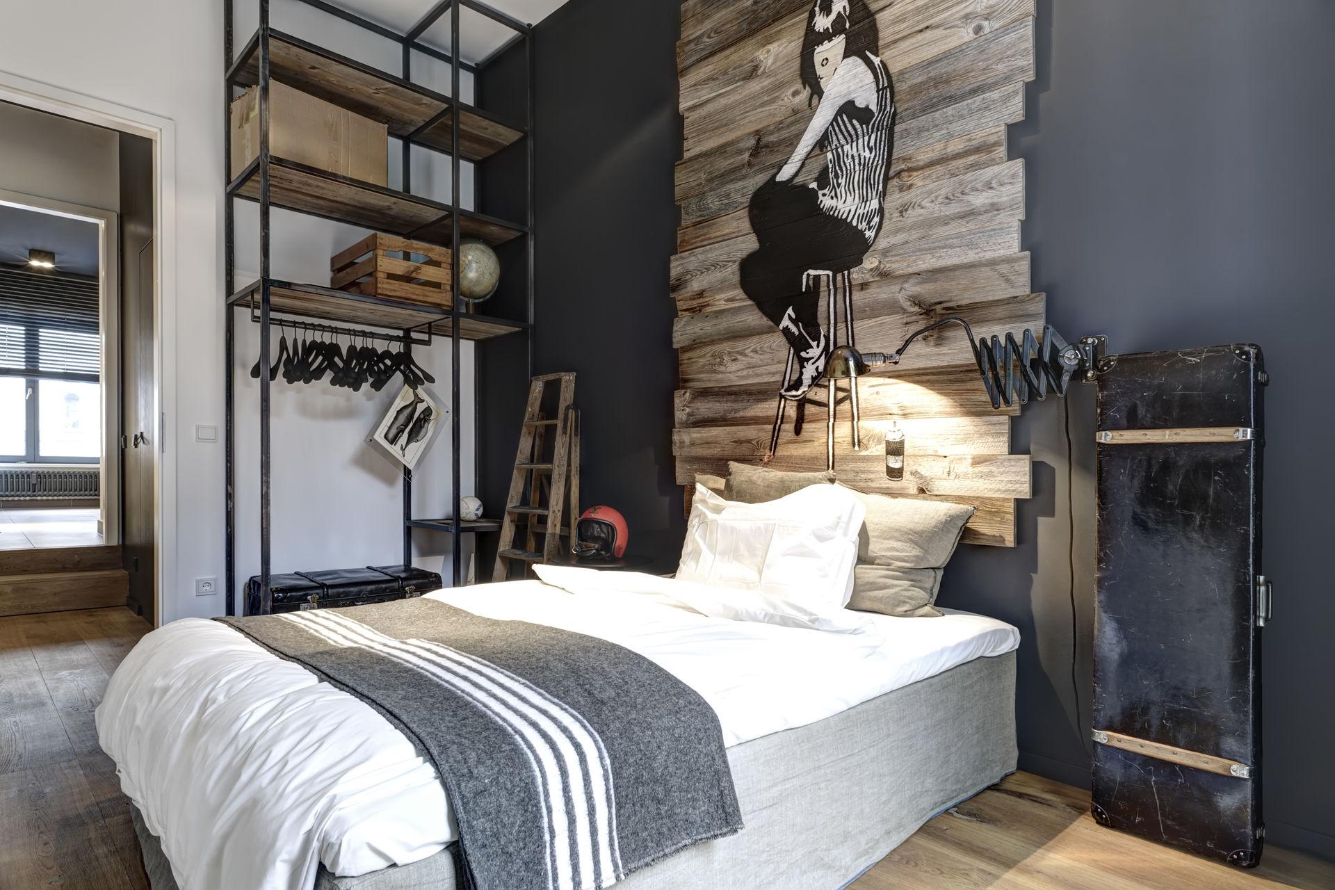 Innendesign Schlafzimmer