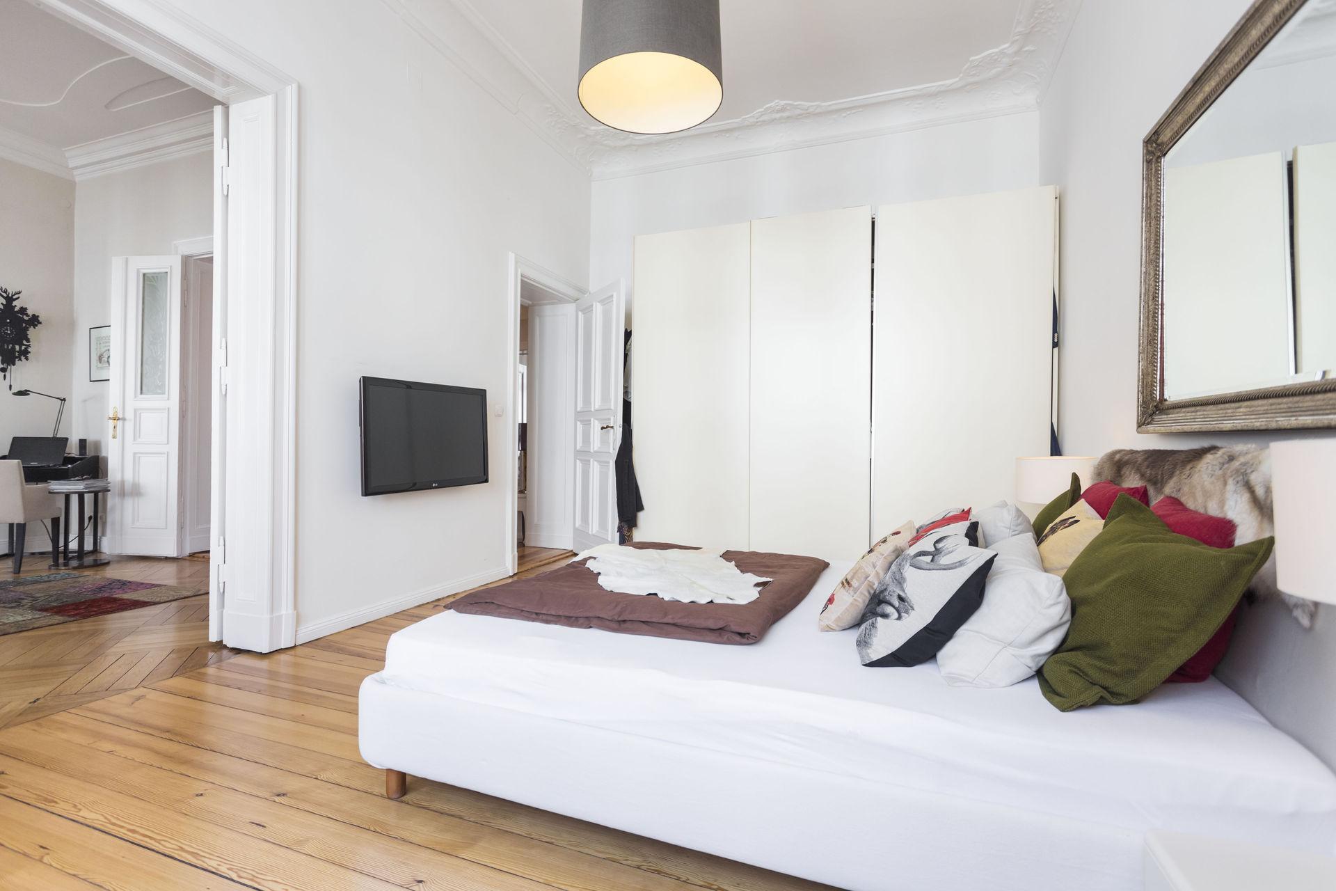 Altbau Schlafzimmer Lampe Wohnzimmer Altbau Raum Und Mobeldesign